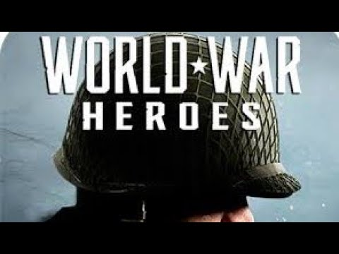 Gameplay of world war heroes on android phone