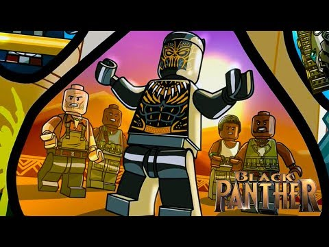 LEGO Marvel Super Heroes 2 - 100% Completion Welcome To The Jungle Black Panther Level DLC