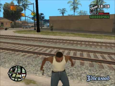 Grand Theft Auto: San Andreas w/ Jebus - Part 4 [HD]