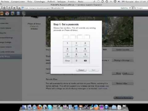 MobileMe: Remote Lock per iPhone