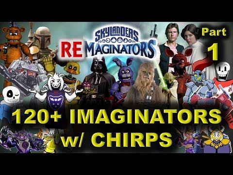 SHOWCASE - 120+ Skylanders Imaginators / RE-maginators + BONUS -