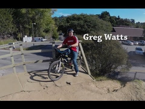 Greg Watts at the Aptos Jumps via DJI Phantom and GoPro 3+