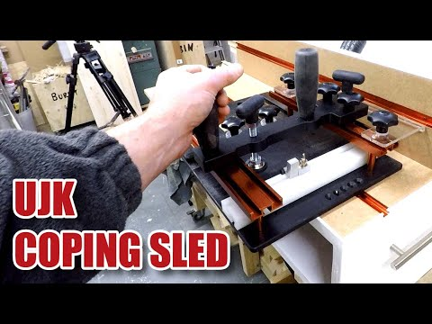 UJK Technology COPING SLED / Router Sled, Assembly and First Use [84]