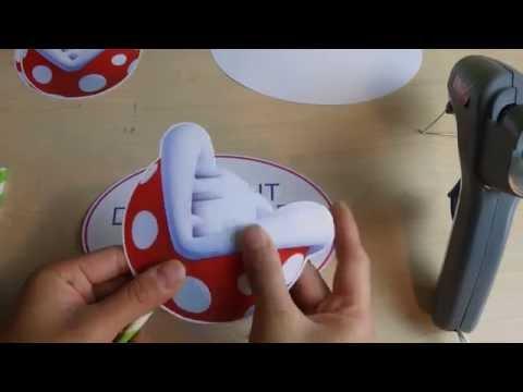 DIY Party Decorations | DIY Mario Party Piranha Plant