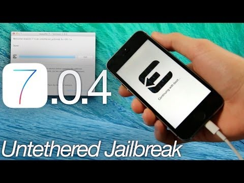NEW Jailbreak 7.0.4 Untethered iOS iPhone 5S,5C,4S,4,iPod Touch 5 & iPad Mini 2,Air,4,3 Evasi0n7