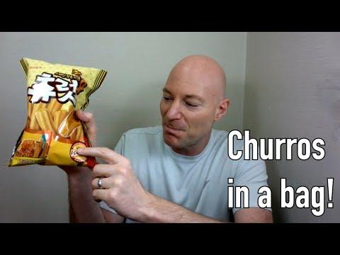 Korean Snack: Churros in a bag! (TBT)
