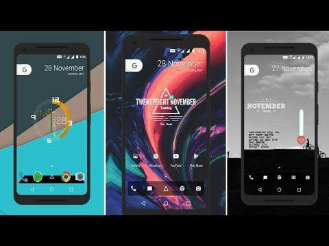 5 Amazing Home screen Setup to Customise your Android in 2018 | No root