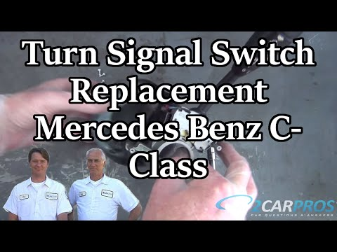 Turn Signal Switch Replacement Mercedes Benz C-Class 2001-2007