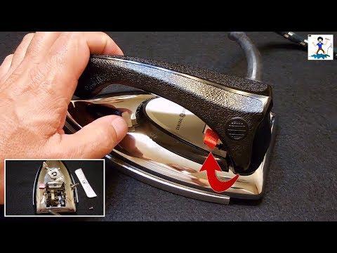Vintage Dual Voltage Travel Iron Operation & Teardown