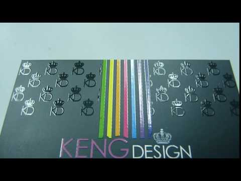 Penang Name Card Business Card Design Printing Delivery In