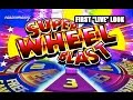 "SUPER WHEEL BLAST - First ""LIVE"" Look! - Slot Machine Bonus"