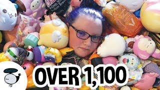 Download BIGGEST SQUISHY COLLECTION - OVER 1100 SQUISHIES Video