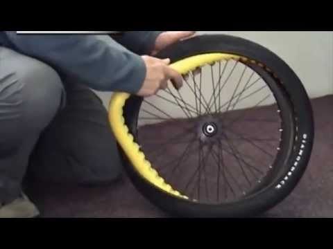 Stop a Flat Installation Video Stopaflat Bicycle Tyre