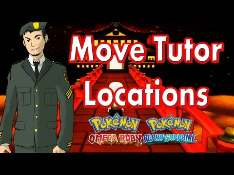 All Move Tutor Locations: Pokemon Alpha Sapphire and Omega Ruby [ORAS]