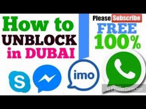 How to Unblock WhatsApp OR IMO Video Calling in UAE and Others |  [No Root] | Hindi and Urdu | 2018