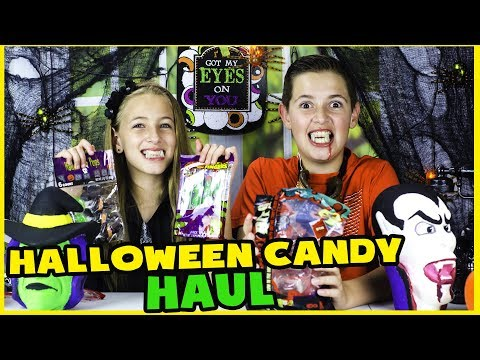 HALLOWEEN CANDY HAUL FROM DOLLAR STORE! $1 CANDY TASTING