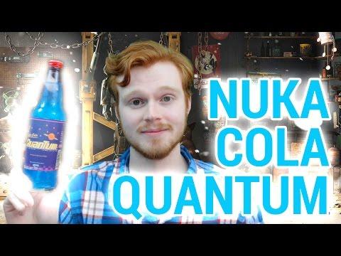 FALLOUT 4: How To Make Nuka Cola Quantum IRL! (DIY Tutorial)