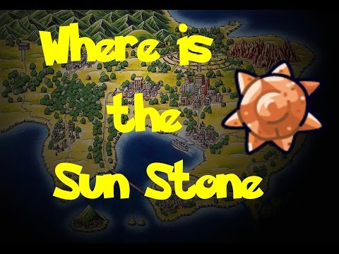 Where Is: The Sun Stone (Pokemon Fire Red/Leaf Green)