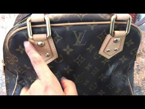 Review & How to Spot Authentic Louis Vuitton Manhattan PM Bag & Where to Find Date Code