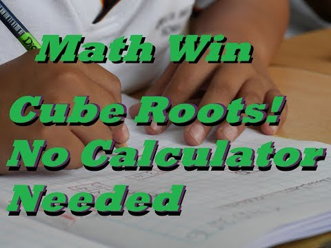 Find the Cubed Root of a Number by Hand!