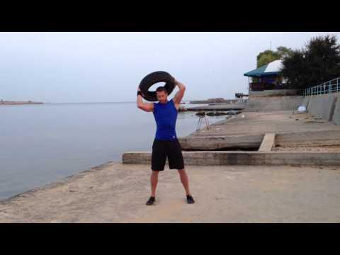 Functional training - Car Tire Training