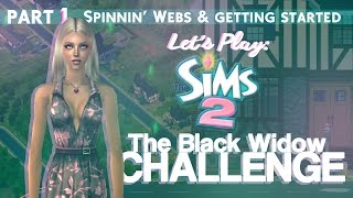 Download Let's Play The Sims 2: The Black Widow Challenge [Part 1]. Video