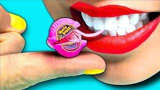 Download 100X Smaller!!! DIY Tiniest Mini Hubba Bubba Bubble Gum! CC Available Video