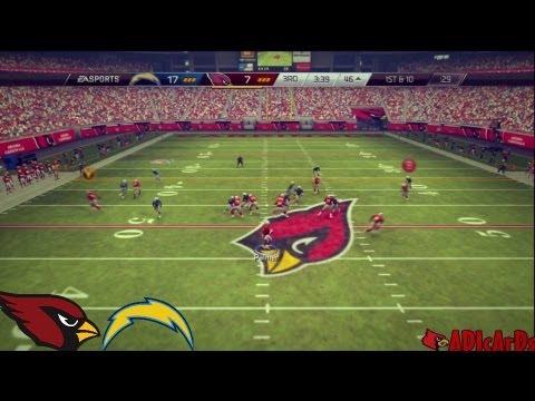 Madden 25 | Tyrann Mathieu the HONEYBADGER! | Cardinals vs. Chargers | Madden 25 Online Gameplay