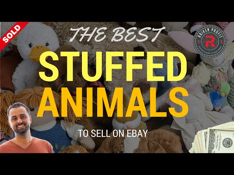 What to Sell on Ebay - The Best Stuffed Animals to Make Money on Ebay