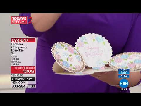 HSN | Crafter's Companion 03.07.2018 - 09 PM