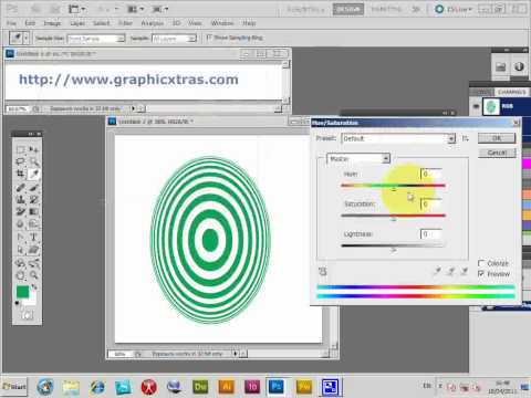 photoshop shapes - how to change the color of a shape in CS5 (CS4 CS3 CS2 CS etc) tutorial