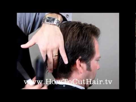 How To Cut Men's Hair - Men's Scissor Haircut