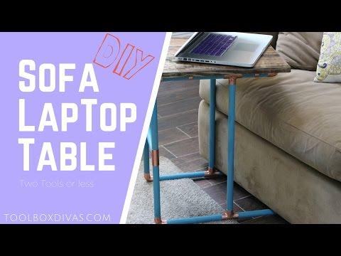 How to Make a Sofa Laptop Desk
