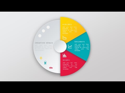 Create Super Impressive Vector Like Pie Chart in Microsoft Office PowerPoint (PPT)