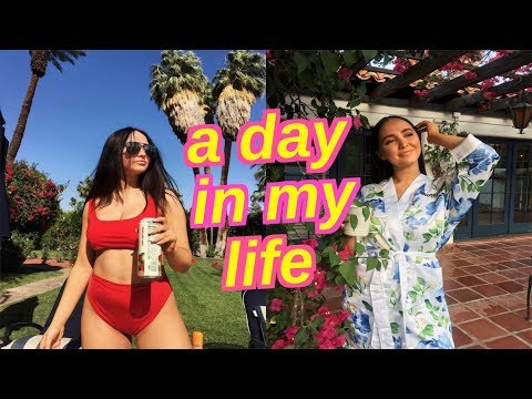 A DAY IN MY LIFE   Palm Springs House Tour, Coachella, Reuniting with Danielle and Morgan