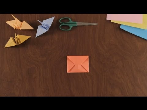 How to Make an Origami Envelope : Simple & Fun Origami