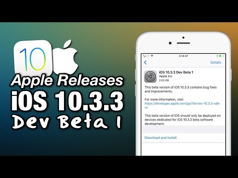 iOS 10.3.3 Beta 1 Released! Whats New? What Will Pangu Do About A 10.3.1/10.3.2 Jailbreak?