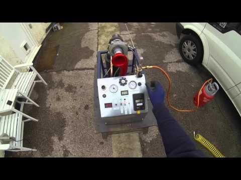 Turbocharger Gas Turbine DIY