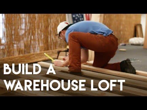 DIY: BUILD A WAREHOUSE LOFT! (GoPro Hero 2)
