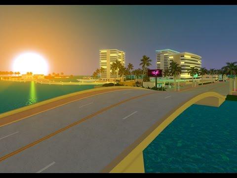 ROBLOX - Coral City Bridge Build Timelapse