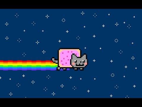 Nyan Cat in Minecraft: HUGE Pixel Art