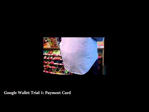 Google Wallet Trial 1