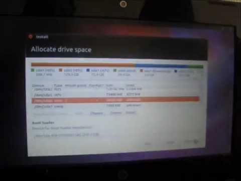 How to: Partition Windows 7/Ubuntu