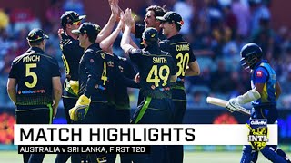 Warner leads batting blitz before bowlers shine | First Gillette T20