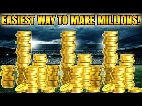 EASIEST WAY TO MAKE MILLIONS OF COINS IN MADDEN 18! | MADDEN 18 ULTIMATE TEAM