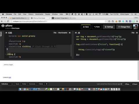 CSS-Tricks Screencast #142: Hiding Things with CSS