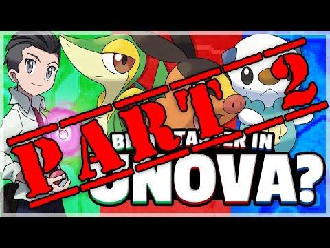 What Is The Best Starter Pokemon? (Unova) Feat. TheSilverSlasher Part 2