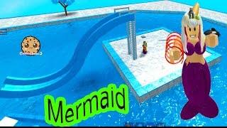 Baby Mermaid Pool + I