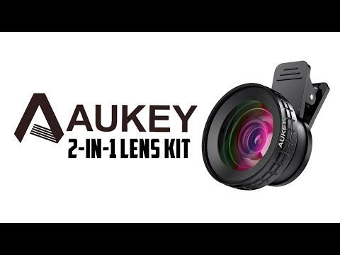Aukey Ora 2-in-1 Wide Angle & Macro Lens Kit