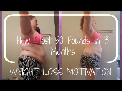 Weight Loss Motivation | How I Lost 50 pounds in 3 Months